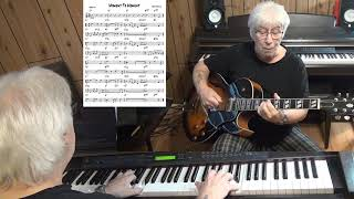 Moment To Moment - Jazz guitar & piano cover ( Henry Mancini )