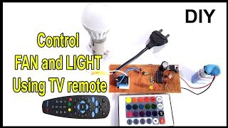 Video Control fan or light using TV remote| how to make download MP3, 3GP, MP4, WEBM, AVI, FLV September 2018
