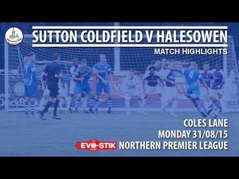 Sutton Coldfield v Halesowen (Match Highlights)