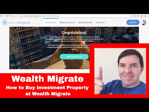 How to buy investment property from Wealth Migrate