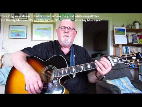 Guitar: Old Atlantic Shore (Including lyrics and chords)