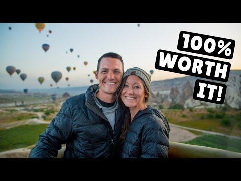 CAPPADOCIA, TURKEY   World's Most Popular Hot Air Balloon Ride