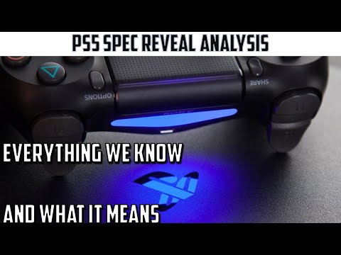 PS5 Real hardware spec analysis