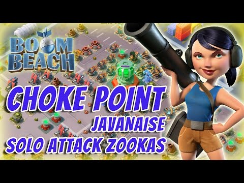 Boom Beach - Operation Choke Point - Javanaise (Solo attack zookas)