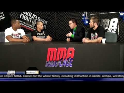 Tyrone Jackson MMA cage brawl appearance