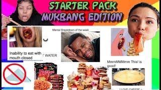 MUKBANG STARTER PACKS : NIKOCADO, PINK ASMR, SAS-ASMR, VERONICA, and EAT WITH QUE