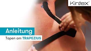 Schulter tapen Trapezius (Anleitung & Video)