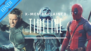 X-MEN TIMELINE Explained | Marvel Hindi