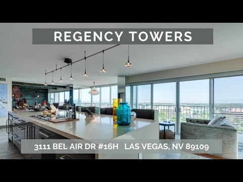 Regency Towers in the Historic Las Vegas Country Club
