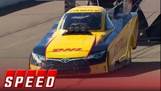 Matt Hagan vs. Del Worsham - Brainerd Funny Car Final - 2016 NHRA Drag Racing Series