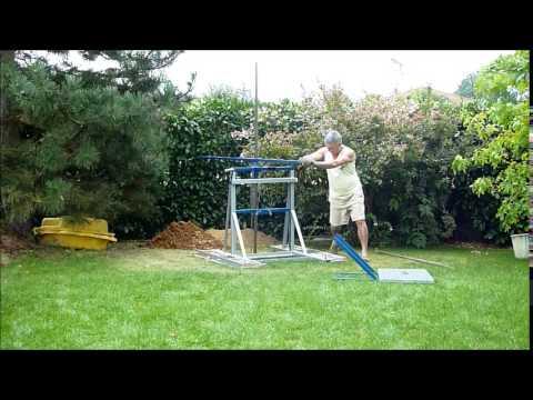 Tarière manuelle pour forage de puits