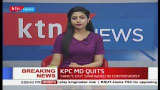 KPC MD Joe Sang quits because of \
