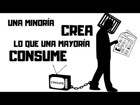 Una minoría crea lo que una mayoría consume