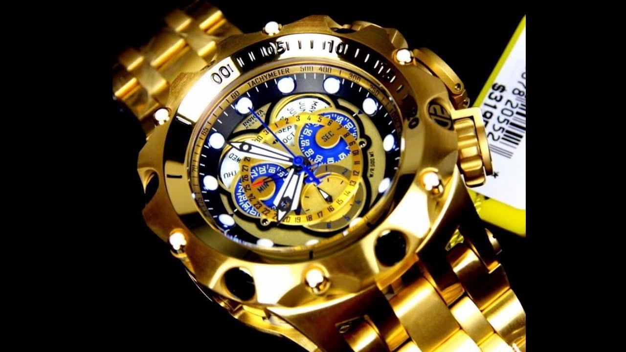 a7b0e39e3d9 Relógio invicta venom hybrid 16804 16805 cronógrafo suiço - YouTube