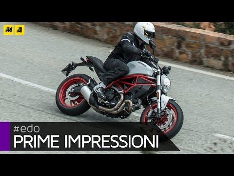 Ducati Monster 797 TEST - Prime Impressioni [ENGLISH SUB]