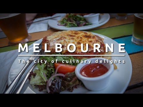 Melbourne Australia. The city of culinary delights.