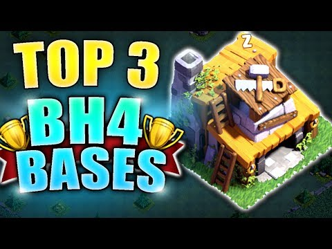 TOP 3 BEST Builder Hall 4 Base  w/PROOF/ BH4 / TH4 NEW CoC Builder Base | Clash of Clans