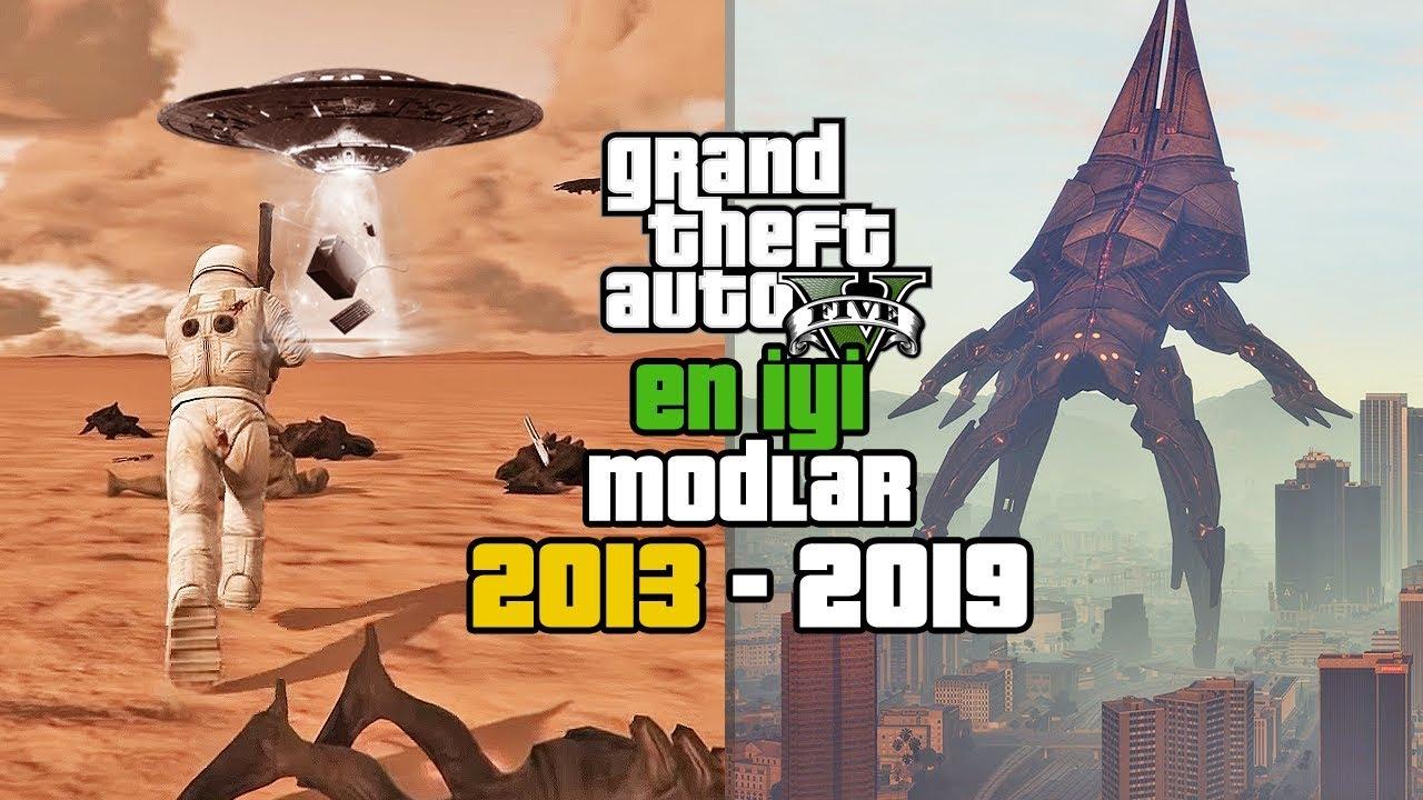 GTA 5 GELMİŞ GEÇMİŞ EN İYİ MODLAR! (2013-2019 GTA 5 MODS)