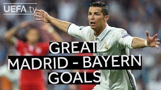 Ronaldo, Élber, zidane: ten great madrid-bayern goals