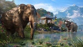 Слоны в Far Cry 4