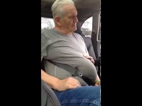 Man Gets Stuck In Seat Belt Hilarious Youtube