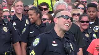 Winston Salem Police Drop the Mic in Their Lip Sync Challenge
