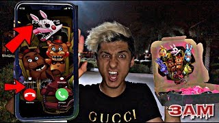 DO NOT ORDER FREDDY FAZBEAR PIZZA AT 3AM!! *OMG HE ACTUALLY CAME TO MY HOUSE*