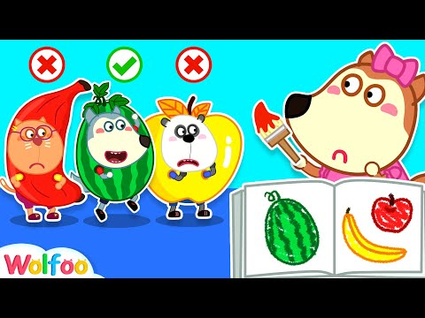 Please Paint Right Color, Lucy! - Wolfoo's Useful Video for Children | Wolfoo Family Kids Cartoon