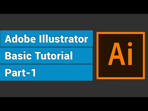Adobe Illustrator Basic Tutorial 1 l Illustrator Bangla Series Tutorial 1 thumbnail