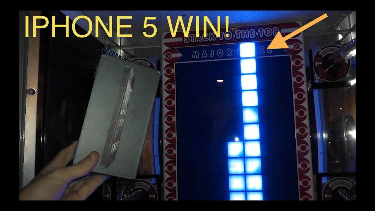 IPHONE 5 WIN ON STACKER! - YouTube