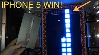 IPHONE 5 WIN ON STACKER!