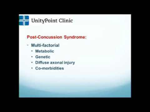 Concussion in Adults: Recovering while Managing Life's Responsibilities