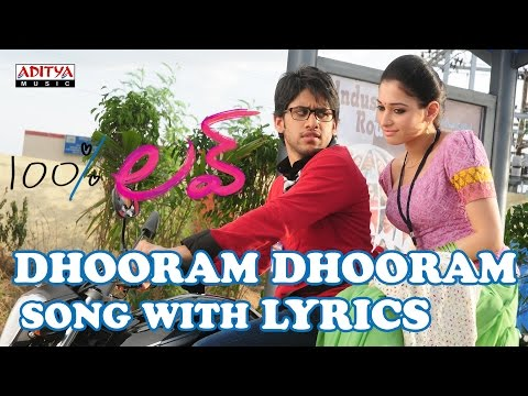 Dhooram Dhooram Full Song With Lyrics - 100% Love Songs - Naga Chaitanya, Tamannah, DSP