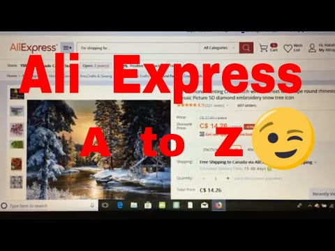 How To Shop On Ali Express Site. Review. Tutorial
