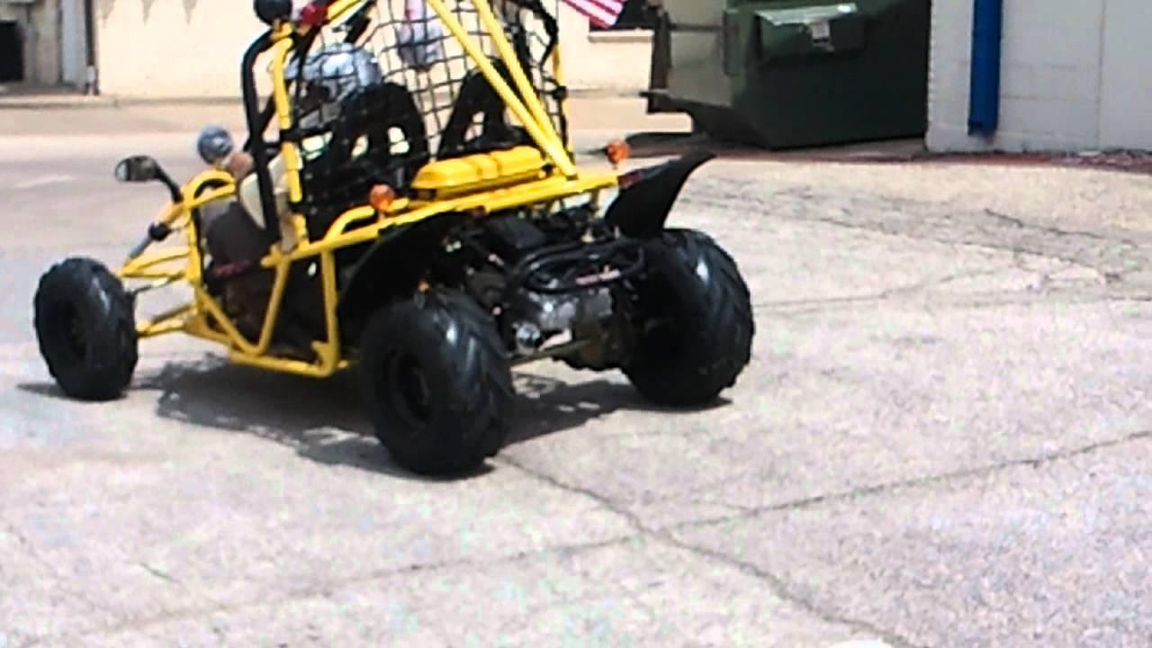High End Go Kart 150cc Kandi Luxury Go Kart Auto With Reverse Youtube