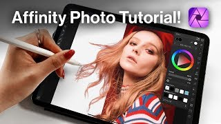 How to cut oขt image in Affinity Photo!