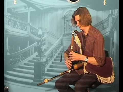 the haunting  sounds of the uilleann pipes,  the sound of ireland