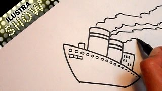 Dibujar Un Barco Tutorial ILUSTRA SHOW