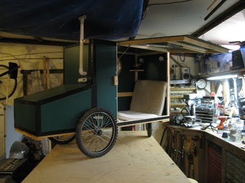 Multi use micro shelter on wheels