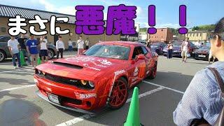 ダッジ チャレンジャー デーモンが石川県に来た!DODGE CHALLENGER DAEMON ガムボール3000