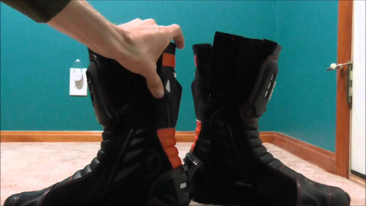 5b4bf3c1912ea7 Spidi XP3-S Boots Review - YouTube