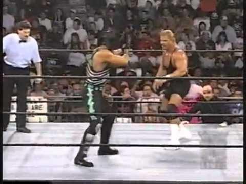 WCW Monday Nitro August 4, 1997 - Mortis vs Curt Hennig
