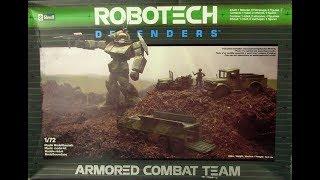 Armored Combat Team de Revell dans la collection Robotech Defenders