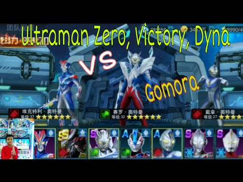 ULTRAMAN ZERO, VICTORY, DYNA VS GOMORA | RAYHAN RIZKY 05