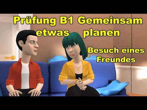 Etwas geburtstag gemeinsam planen b1 Almanca B1