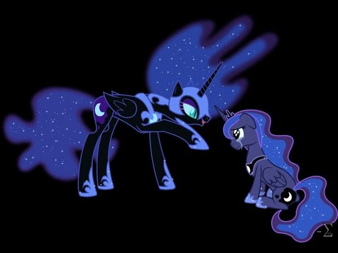 Confrontation-Luna and Nightmare Moon Cover (Foal Ver.)