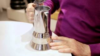 Richard Sapper's iconic espresso maker for Alessi