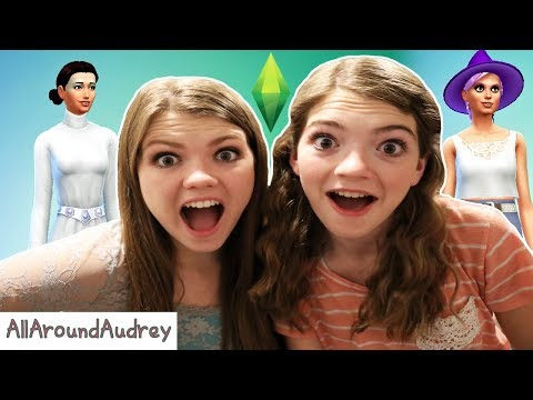 CREATING EACH OTHER IN SIMS4! SISTERS PLAY / AllAroundAudrey