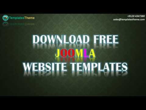 Free Download Responsive Joomla Website Templates