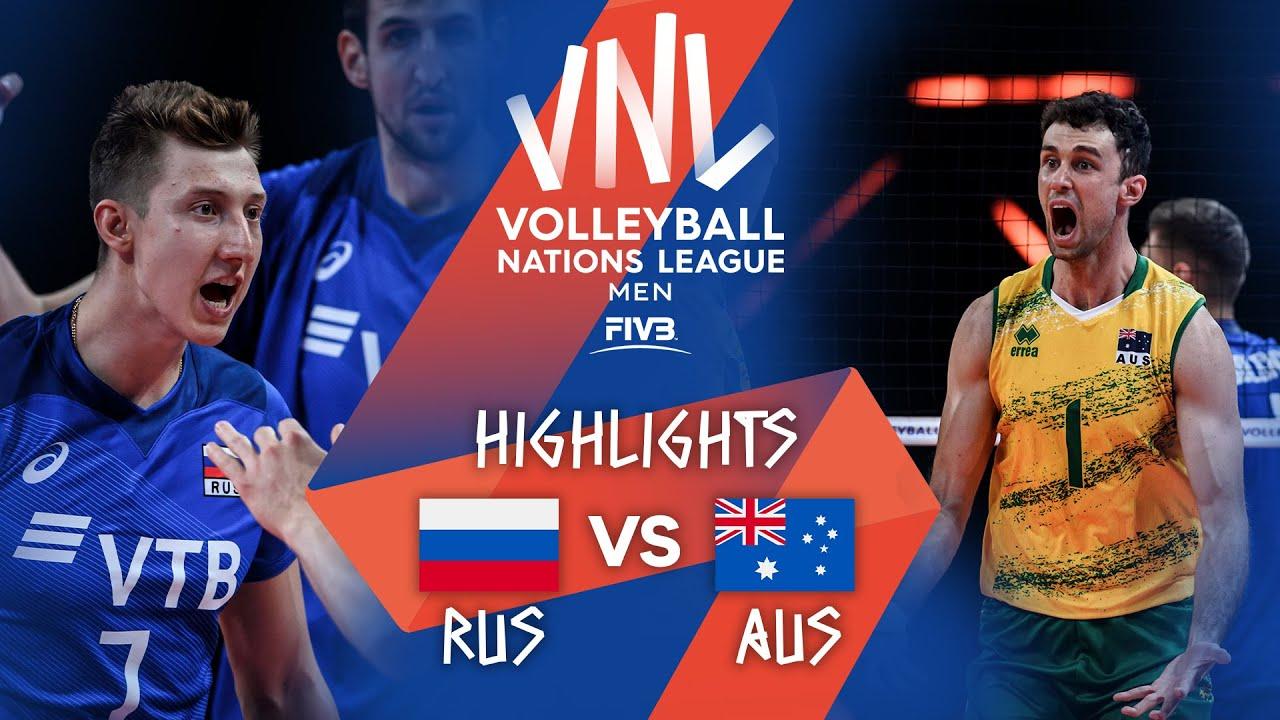 Download RUS vs. AUS - Highlights Week 2   Men's VNL 2021